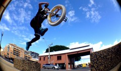 unicycle muni trials jump
