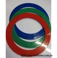 Juggling Rings Kids Pack of three 24cm