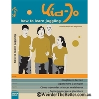 Kid-Jo how to learn juggling