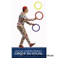 Cirque Du Soleil Juggling Rings Set of Three