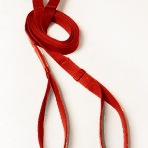 Aerial Straps Coloured red