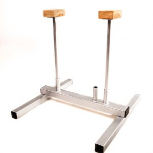 hand balancing stand silver handstand platform