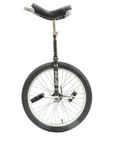 DRS Solo Pro 24 Unicycle Grey