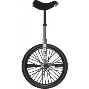DRS Solo Pro 26 Unicycle Grey
