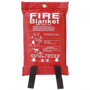 fire twirling blanket