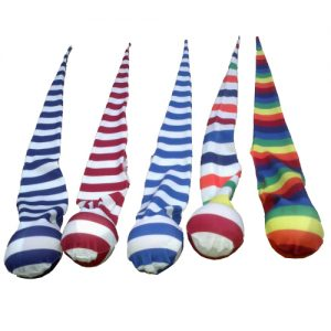 sock poi striped