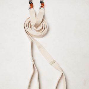 aerial circus straps white