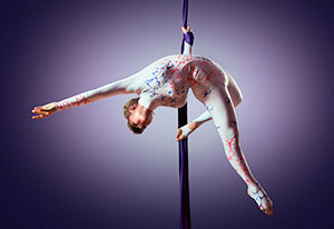 circus aerial performer