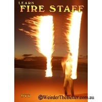 DVD Learn Fire Staff